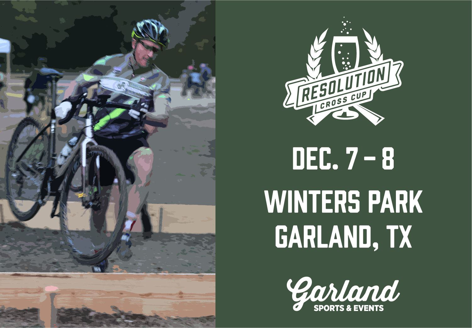 Cyclocross' Resolution Cross Cup comes to Winters Park Dec. 7 and 8